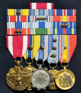 Dr. Vinny Mendoza's Medals